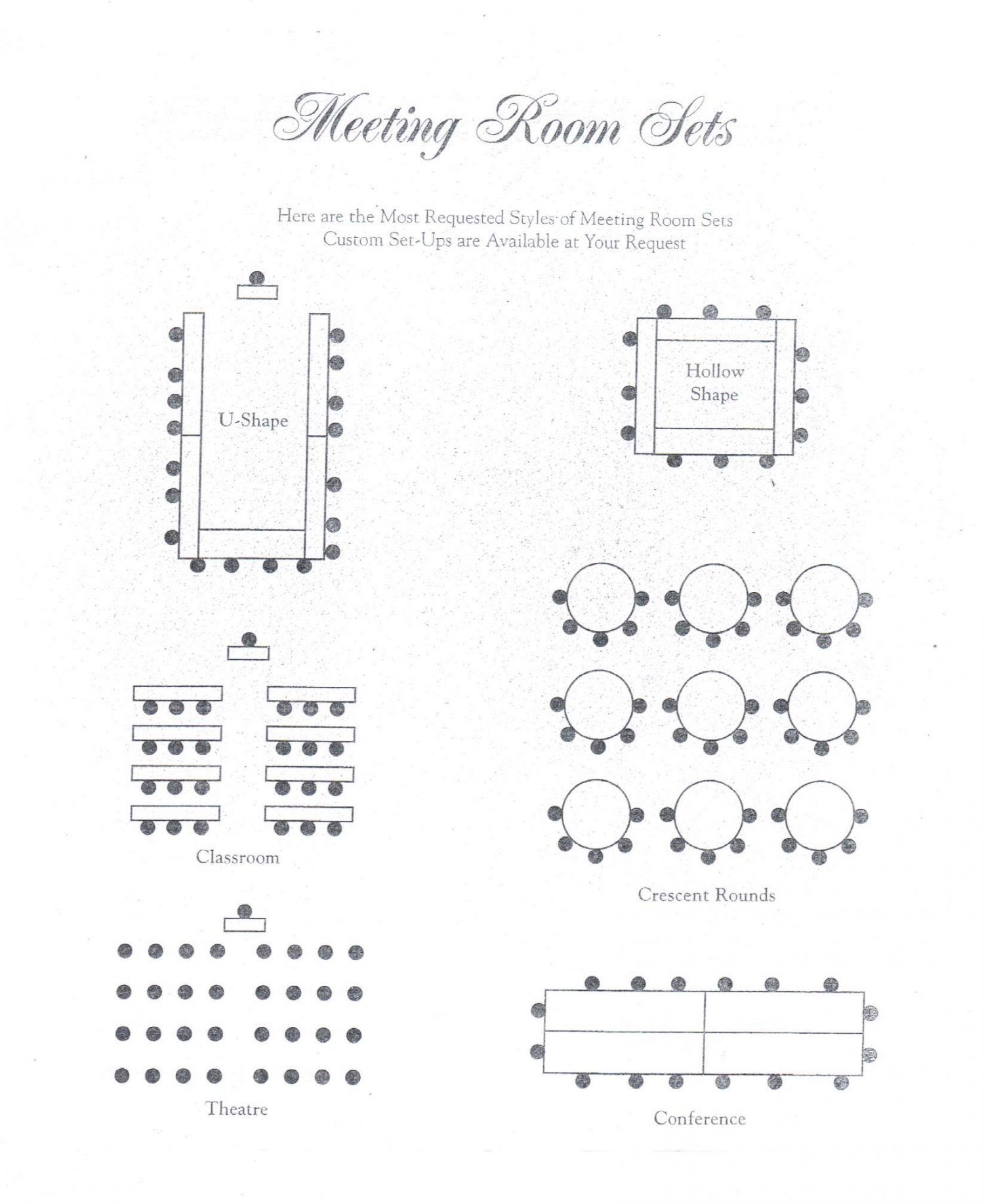 Room Diagram room layout – the wellington